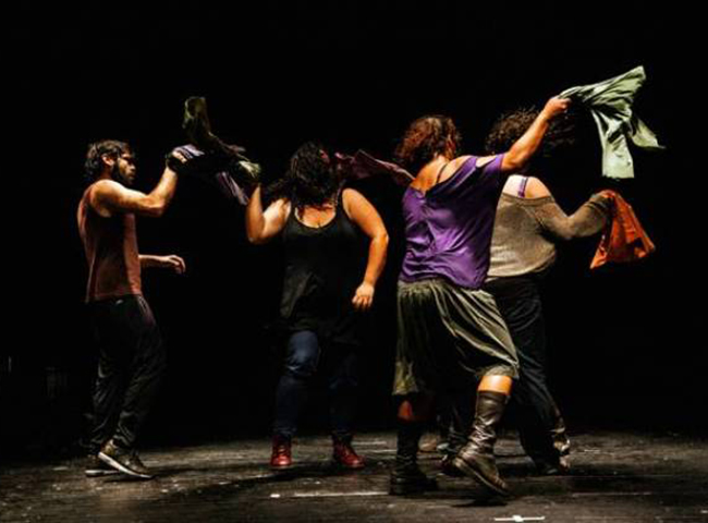 THE BATTLE SCENE | Zoukak Theater Company