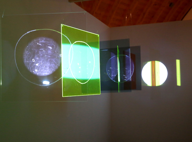 FIVE SUNS / AFTER GALILEO con l'artista Mischa Kuball